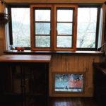 窓の両サイド