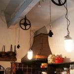 インダストリアル系のランプ