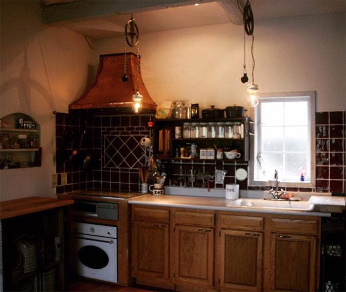 キッチンの全体像
