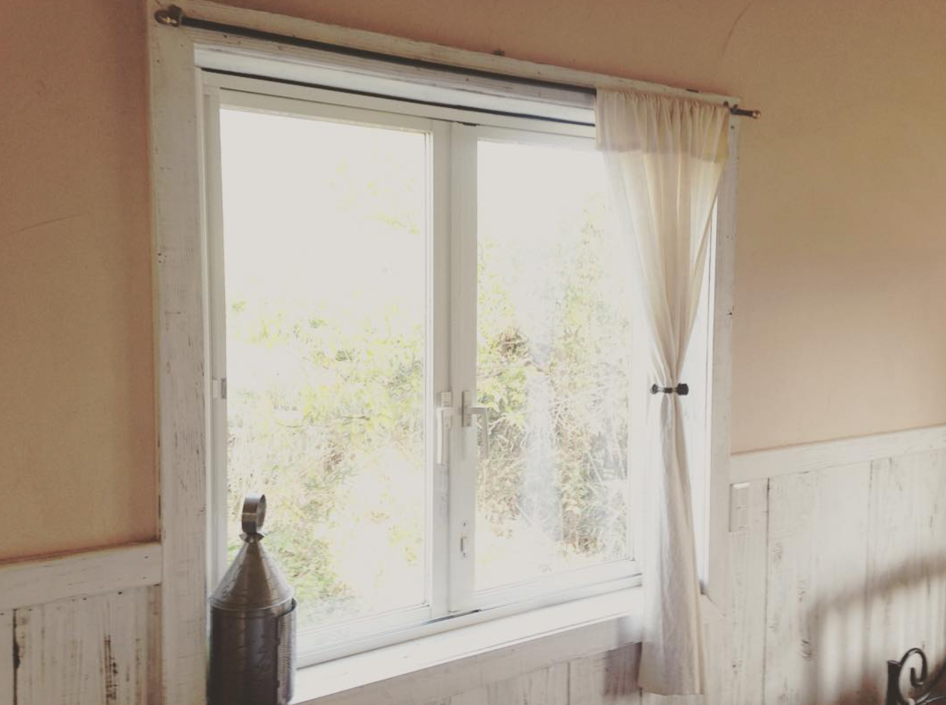 増築した場所の窓