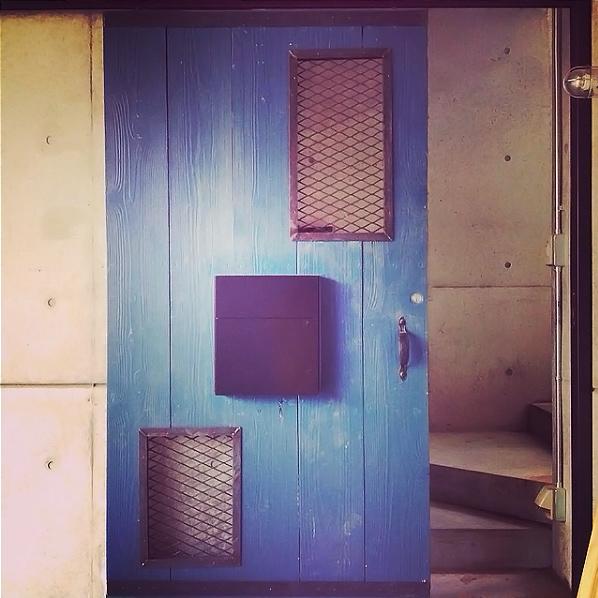 友人宅の門扉製作