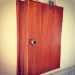 ラワン板のキーケース