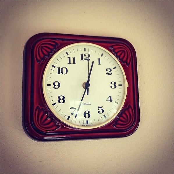 旧西ドイツの時計