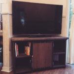 作り直したテレビボード